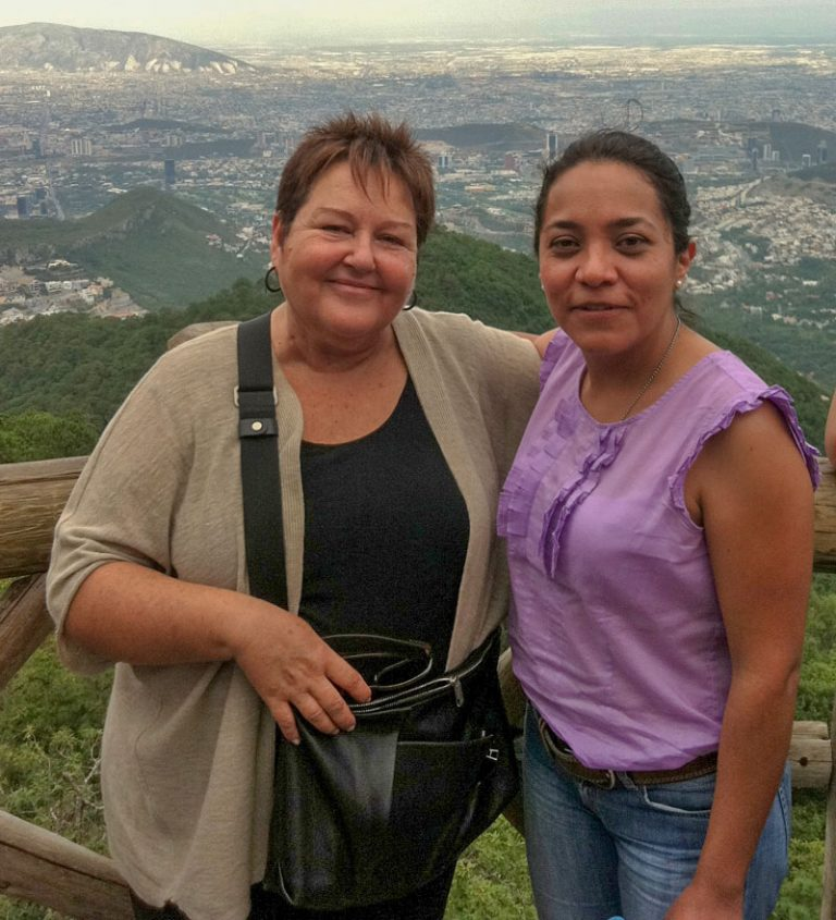 ALEXANDRA&GEMMA IN MONTERREY, MEXICO.