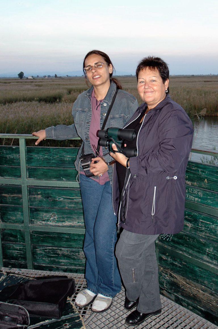 HNEELIMA AND GEMMA IN THE DELTA.